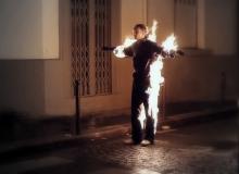 Jerome Gaspard - Cascadeur - Torche humaine
